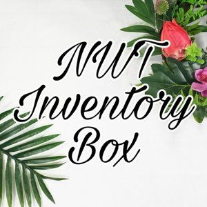 Inventory Box - New With Tag